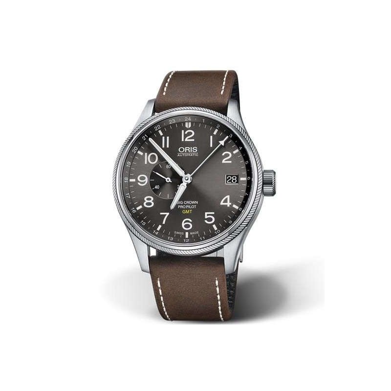 Oris Big Crown ProPilot GMT, liten sekundvisare 74877104063-0752205FC