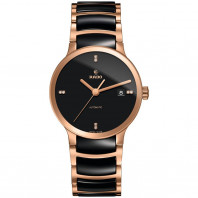 Rado Centrix Automatic ceramic & rose gold