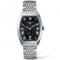 Longines Evidenza Black Steel Gent's Watch