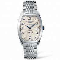 Longines - Evidenza Silver Flinque Steel Gent's Watch