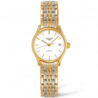 Longines Lyre 25mm bracelet with yellow gold PVD