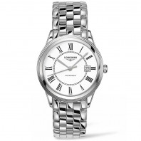 Longines Flagship 38.5mm White Steel Gent's Watch