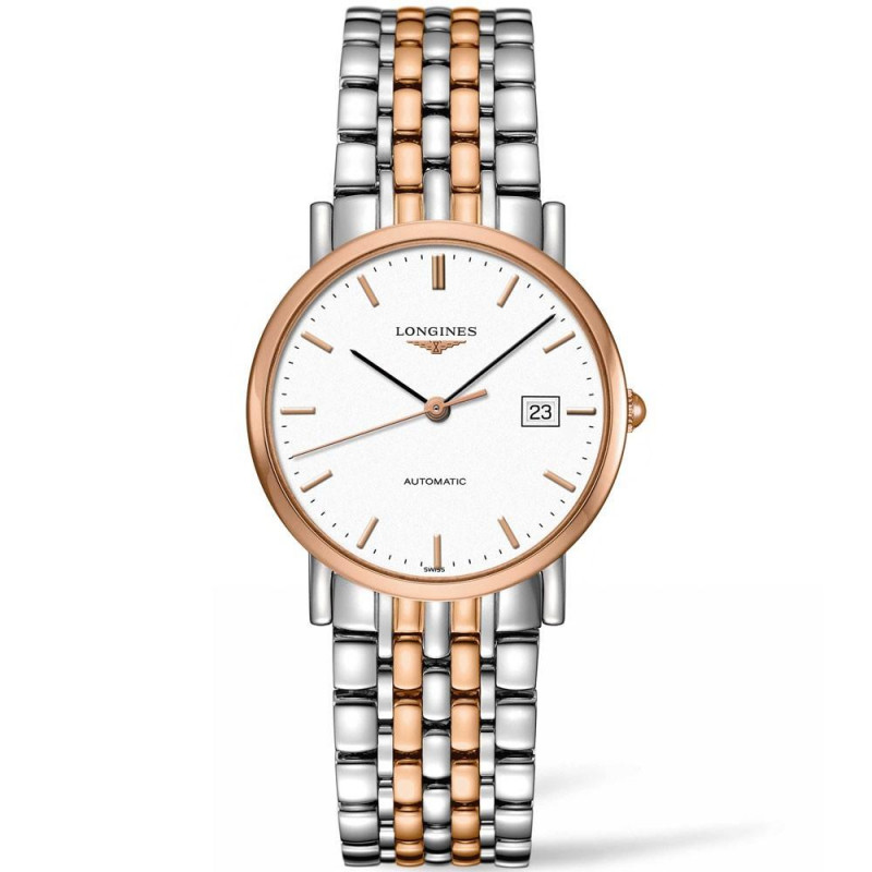 Longines Elegant rose gold 34.5mm