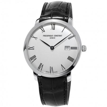 Buy online Frédérique Constant Slimline Automatic Silver FC-306S4S6