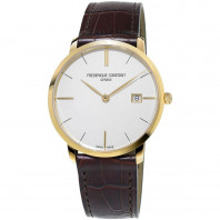 Frédérique Constant Slimline Quartz Gold Men's Watch FC-220V5S5