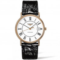 Longines - Presence White Rose Gold PVD Gent's Watch