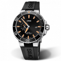 Oris Aquis Small Second & Date - rubber strap