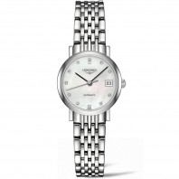 Longines - Elegant  MOP Steel Diamonds Lady's Watch