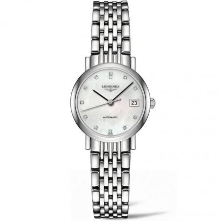 Longines - Elegant Lady  25mm diamonds