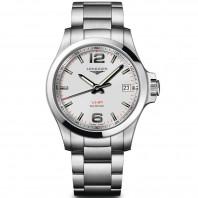 Longines - Conquest V.H.P Quartz Silver Dial & Steel Bracelet L37164766