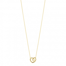 HEARTS OF GEORG JENSEN hängsmycke - 18 kt. gult guld, litet