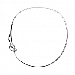 Georg Jensen FORGET-ME-KNOT Neck ring - sterling silver 35325933532593