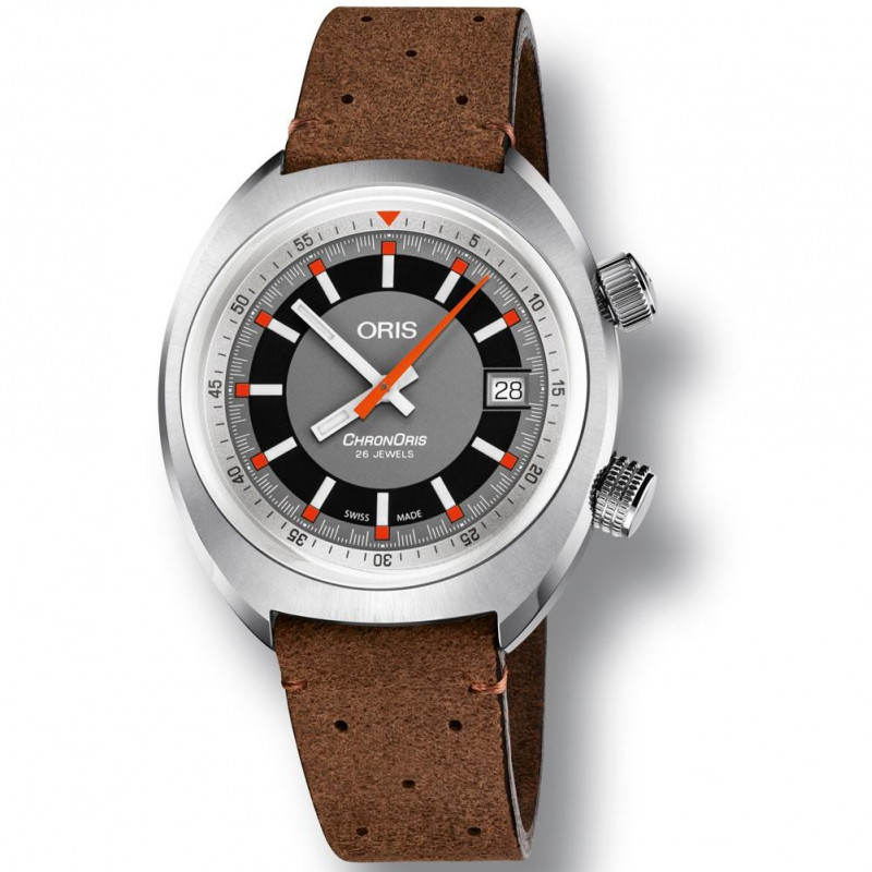 Oris - Chronoris Date Leather strap