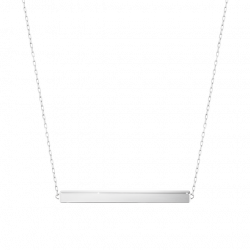 Georg Jensen ARIA halsband - sterlingsilver, båge