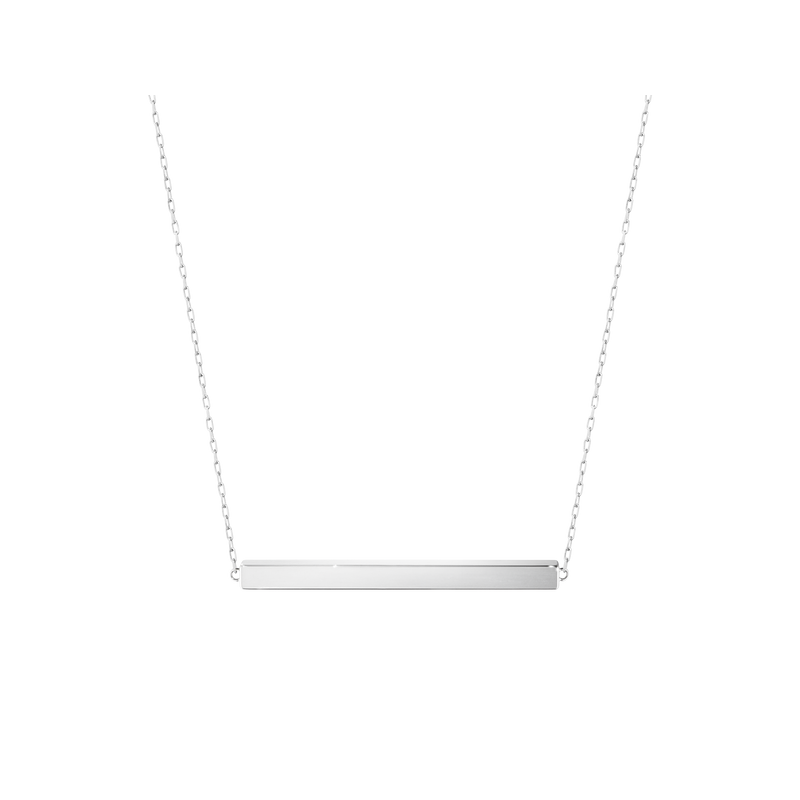 Georg Jensen ARIA Necklace - bar, sterling silver 3533016