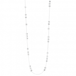 Georg Jensen ARIA halsband, långt - sterlingsilver, 91cm