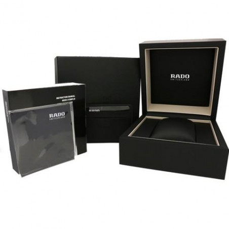 Rado - Centrix Automatisk Damklocka Vit Keramik & Diamanter