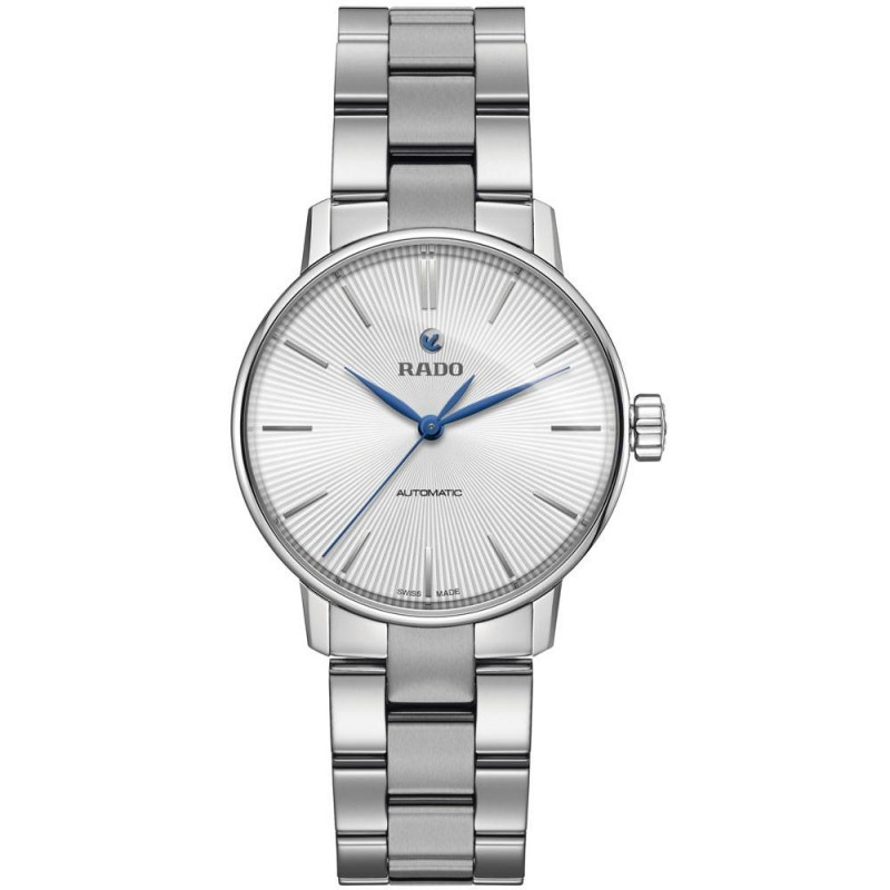 Rado Coupole Classic Automatic Lady's - silver & blue hands R22862043