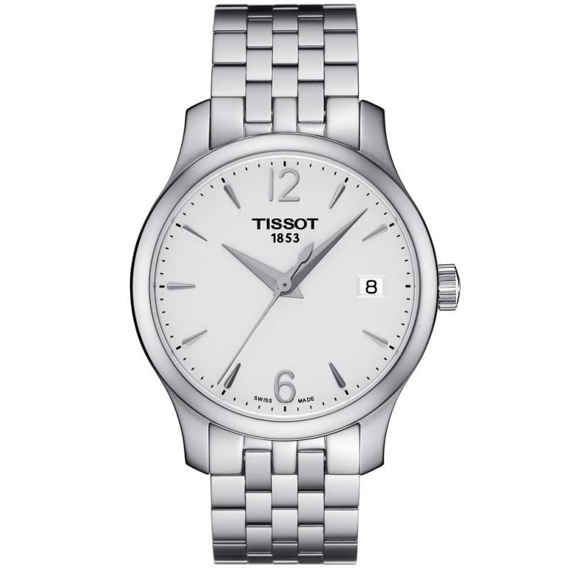 Tissot - Tradition Lady silver & bracelet T0632101103700