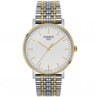 Tissot - Everytime Medium silver & yellow gold