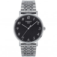 Tissot - Everytime Quartz Black & bracelet