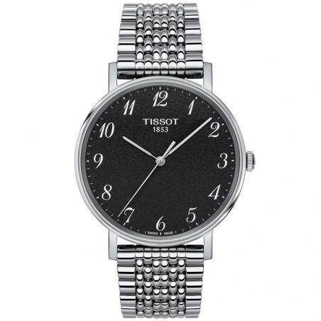 Tissot - Everytime Quartz Black & bracelet