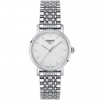 Tissot - Everytime quartz lady silver dial and bracelet T1092101103100