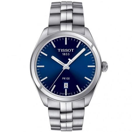 Tissot - PR 100 Quartz Men's watch Blue dial & Bracelet T1014101104100