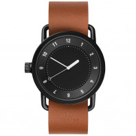 TID No. 1 Black - 40 mm Leather strap