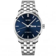 MIDO Belluna automatisk herrklocka blå & stållänk M0246301104100
