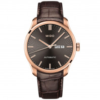 MIDO Belluna Automatic Men's watch with brown dial & leather strap