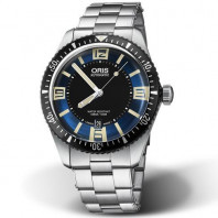 Oris Divers Sixty-Five Blue & Steel bracelet