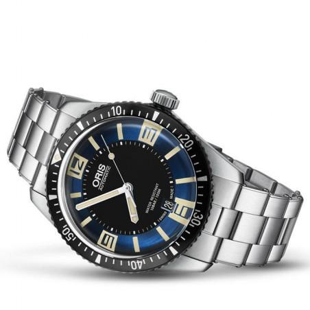Oris Divers Sixty-Five Blue dial & steel bracelet 733 7707 4035-8 2018
