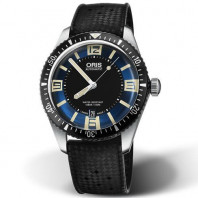 Oris Divers Sixty-Five Blå & Gummiband 40mm