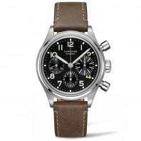 Longines chronograph Heritage Avigation Big Eye 41 mm