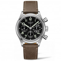 Longines chronograph Heritage Avigation Big Eye 41 mm