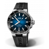 Oris - Aquis Clipperton with gradient blue dial. Limited edition of 2000 pcs 733 7730 4185-Set RS