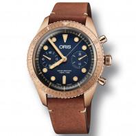Oris - Carl Brashear Bronze Chronograph Limiterad Upplaga 2000 styck. Säljs med en speciell trälåda. 771 7744 3185-Set LS