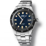 Oris Divers Sixty-Five Blå & Rostfritt stål
