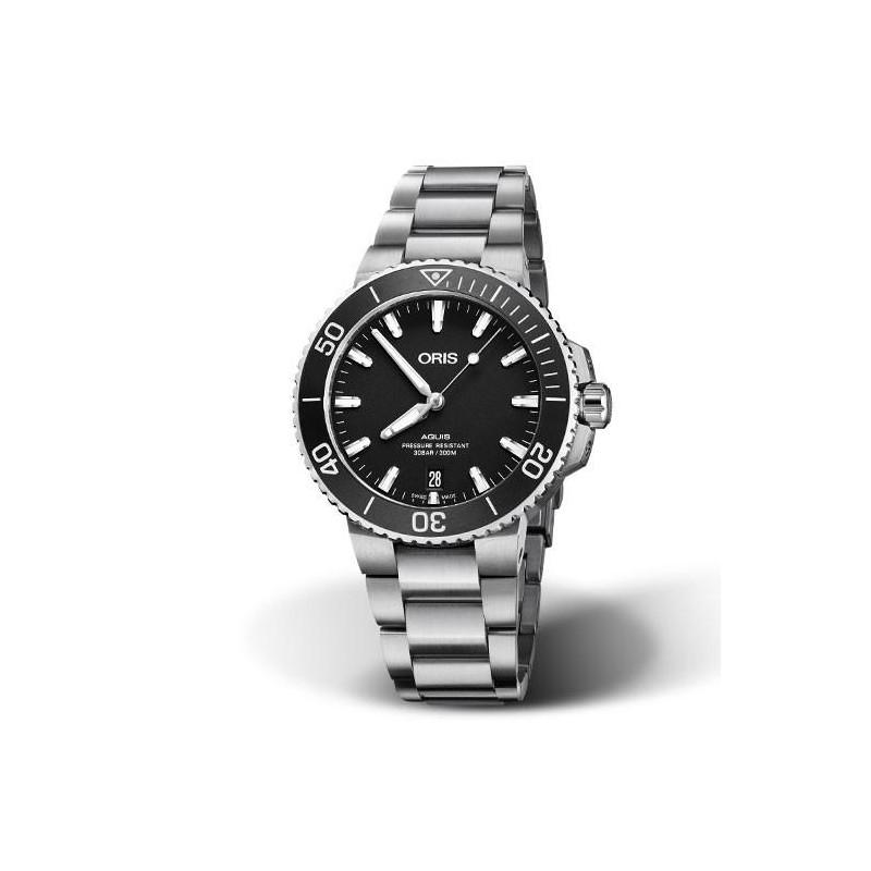 Oris - Aquis 39.5mm Black dial & Bracelet