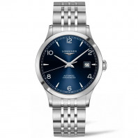 Longines - Record Blue Dial and Bracelet 40 mm