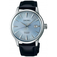 Seiko - Presage Cocktail Automatic Blue & Leather Strap