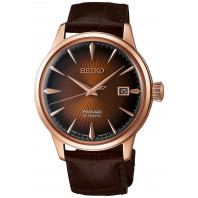 Seiko - Presage Cocktail Automatic Brown & Leather Strap