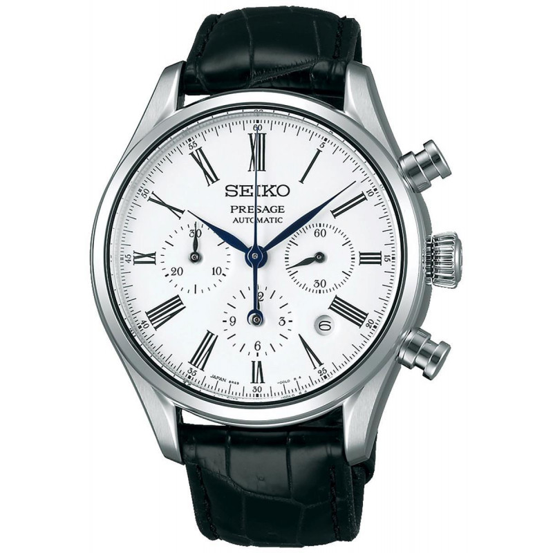 Seiko - Presage Automatic Leather Strap 42 mm SRQ023J1