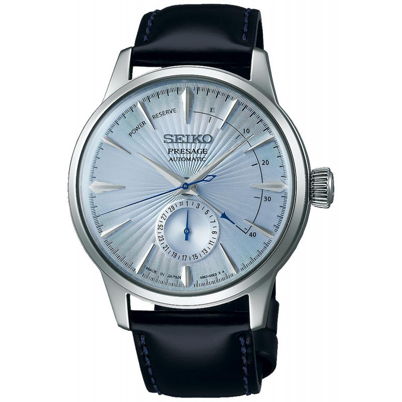 Seiko - Presage Cocktail Automatic Leather Strap 41 mm SSA343J1