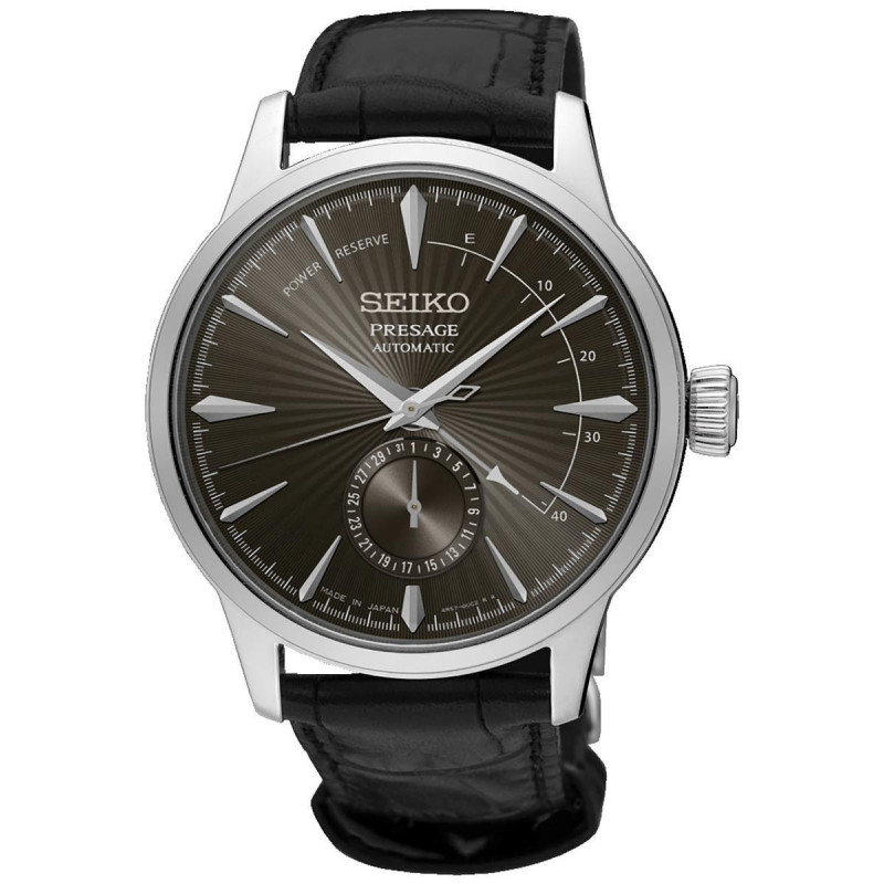 Seiko - Presage Cocktail Automatic Leather Strap 41 mm SSA345J1