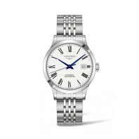Longines - Record white dial with roman numeral