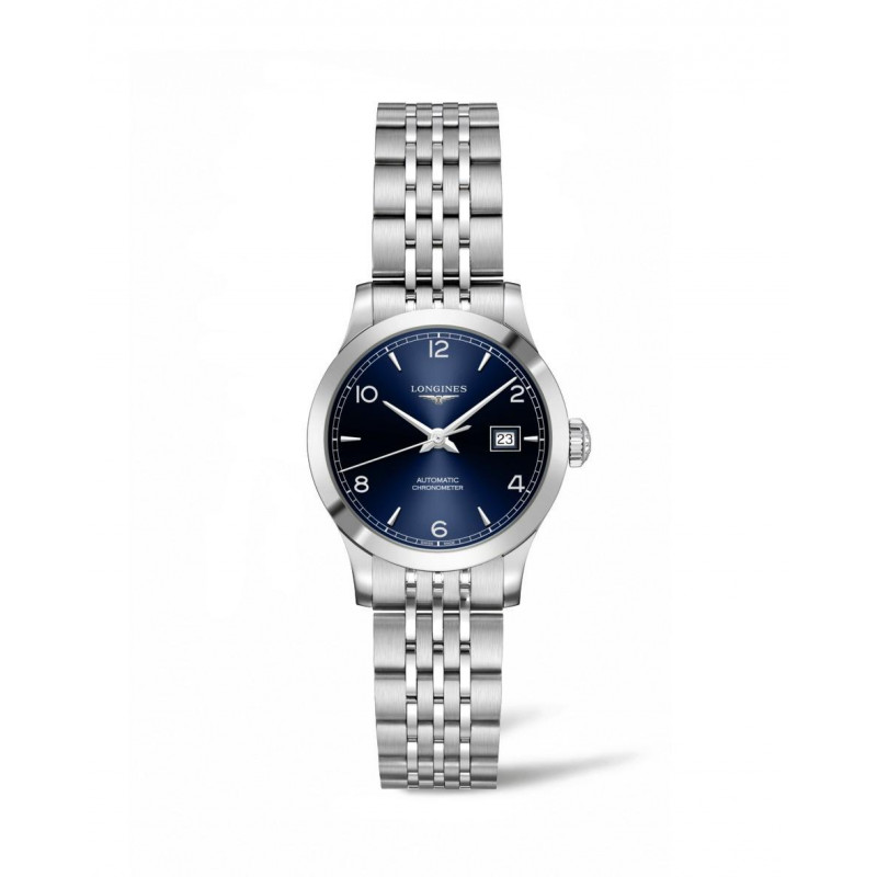 Longines - Record Lady 30 mm Blue Dial & Bracelets