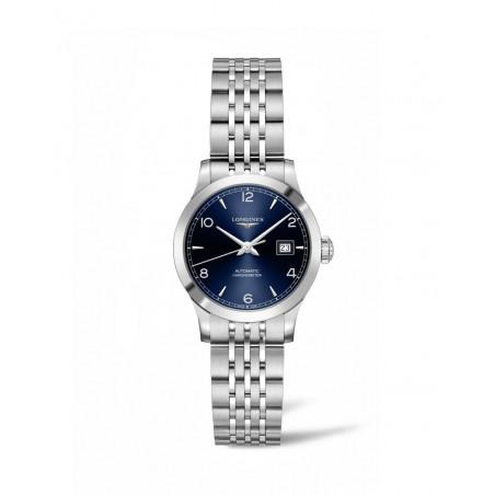 Longines - Record Lady 30 mm Blue Dial & Bracelets