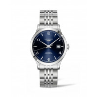 Longines - Record Blue Dial and Bracelet 38.5 mm
